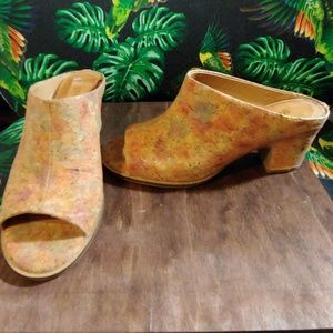 Kenneth Cole Shoes - Cork Heels